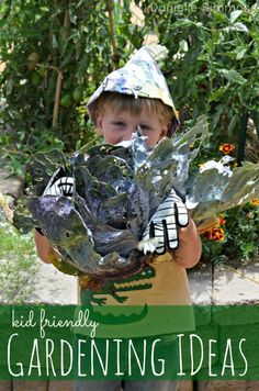 Kid Friendly Gardening Ideas to Get Your Kids in the Garden - One thing I love about living in Southern California is that there really isn't a time where I have to stop planting. We have something growing in our raised beds year-round. Plus more growing in our plot at the community garden. Over the past 3 years we've come up with some fun and...