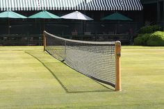 Grass courts at the International Tennis Hall of Fame, Newport, RI