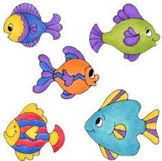 peixe para pintar
