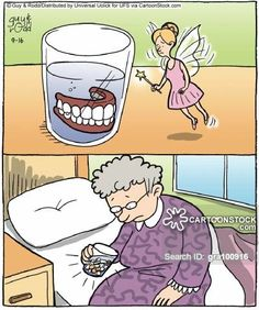 A funny cartoons! Dental Implants NYC ¡Call now for a free consultation Dental Assistant Humor, Dentist Humor, Medical Humor, Dentist Quotes, Dental Puns, Dental Facts, Dental Humour, Dental Care, Dental Health
