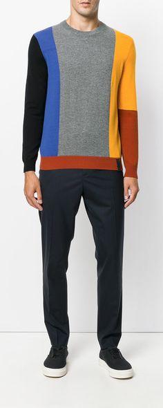 0afbc225f219 Kenzo Block Panel Sweater - Farfetch. Shades Of GreenKenzoDressmakingPolo  ShirtCasual ...