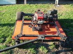 "Homemade 60"" Trail mower - Custom - Gallery - Garden Tractor Talk ..."