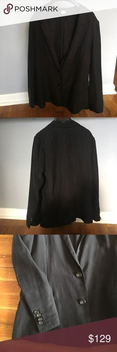 100% SILK BOYFRIEND BLAZER 100% SILK Boyfriend Blazer. SUPER soft and lightweight. Perfect for work or play. 2 front buttons. Faux front pockets. Dry clean only. J. Crew Jackets & Coats Blazers