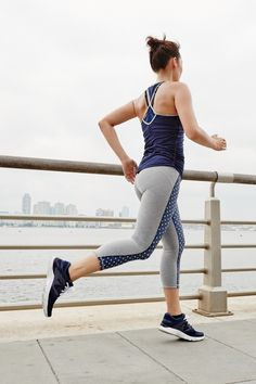 These J.Crew x New Balance active pieces are some of the most beautiful, preppy, stylish workout clothes we've ever seen! And the photos from the collection are total fitness inspiration — pin away to get motivated for your next sweat session!