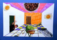 Surrealist rooms