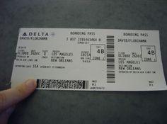 Billet d'avion