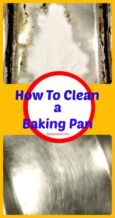 Burn on food in your baking pan? Try this awesome solution! #tips