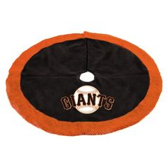 "$59.99-$75.00 48"" MLB San Francisco Giants Logo Christmas Tree Skirt - San Francisco Giants Tree Skirt Item #06901 Officially licensed merchandise Add the finishing touch to your tree this Christmas season with this MLB logo tree skirt Features the authentic team colors and logo Dimensions: 48"" diameter Hole diameter: 4.5"" Material(s): polyester Care instructions: dry clean only http://www.amazon.com/dp/B004JXZ7HU/?tag=pin2wine-20"