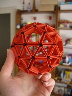 Origami for Everyone – From Beginner to Advanced – DIY Fan Geometric Origami, Origami And Kirigami, Origami Ball, Modular Origami, Paper Crafts Origami, Origami Design, Origami Stars, Diy Paper, Oragami