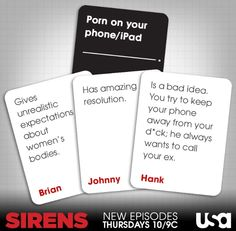 Sirens Usa Network, You Tried, Sirens, Tv Shows, Cards Against Humanity, Mermaids, Tv Series