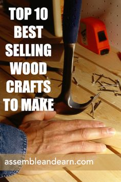 Discover more than 500 wood projects that are great for a woodworking business. These are some of the best selling wood crafts you can make and sell for a very lucrative profit.