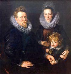 Rubens lernte bei mehreren Malern in Antwerpen und wurde dort 1598 als Meister in die Lukasgilde aufgenommen. Von 1600 - 1608 hielt er sich in Italien auf und lernt die italienische Malerei in Mantua, Genua, Venedig, Florenz und Rom kennen. Ab 1608 lebte er in Antwerpen, wo Nicolaas Rockox, mehrfach Bürgermeister von Antwerpen, zu seinem wichtigsten Mäzen wurde. 1609 wurde Rubens von Erzherzog Albrecht VII. von Österreich, Regent der spanischen Niederlande, und dessen Gattin Isabella von…