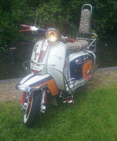 Lambretta 1964 gt 200 mod scooter ulma vigano