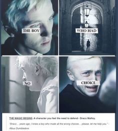 Poor Draco<<<Ikr he gets a lot of crap but he was one of my favorite characters after I finished and reread the series