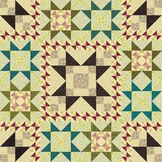 Pieces From My Heart Sandy Gervais~Playing With Size Quilt
