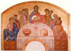 The Last Supper - Mykhailo Boichuk