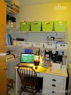 Computer Desk Organizer Ideas