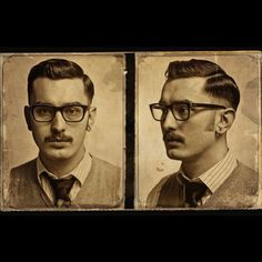 Slick by schorem barbier Undercut Hairstyles, Cool Hairstyles, Hair And Beard Styles, Hair Styles, Male Pattern Baldness, Hipster Man, Beard No Mustache, Vintage Hairstyles, Haircuts For Men