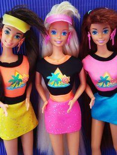La Barbie Cabello Glitter. | 21 Juguetes de Barbie que toda niña de los 90 deseó con locura
