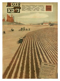 Cover of Przekrój magazine. Issue dated September 28, 1952.