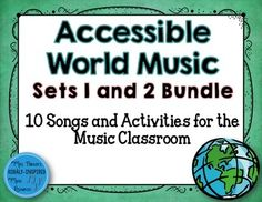 Lots of great songs, ideas, and materials for incorporating world music into the music classroom.