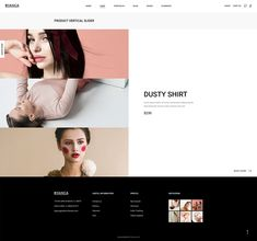 Present your fashion brand and sell your items in a truly stunning way with Byanca WordPress theme! Layout Template, Templates, Inventory Management, Lorem Ipsum, Wordpress Theme, Sliders, Fashion Boutique, Ecommerce, Fashion Brand