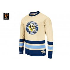 03e10300ad471 Open Ice Longsleeve - Traditional Pittsburgh Penguins Mitchell   Ness  Nostalgia Co.