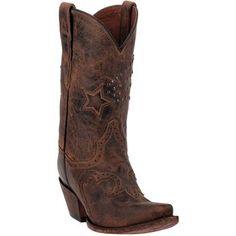 Dan Post Women's Dallas Star Goat Skin Boots
