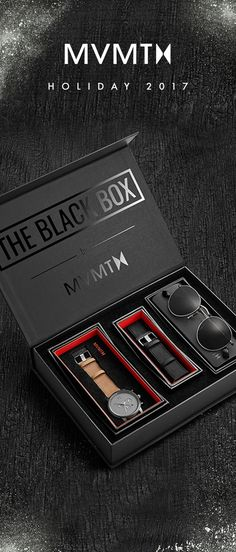 The ultimate gift this season:  Watch  Extra Strap  Sunglasses  Packaged in a badass gift box