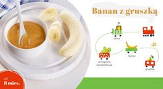 banan z gruszką Food And Drink, Tableware, Baby, Dinnerware, Dishes, Newborn Babies, Infant, Baby Baby, Place Settings