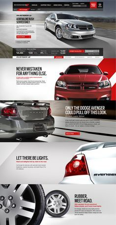 High-impact userexperience. The new Dodge.Com