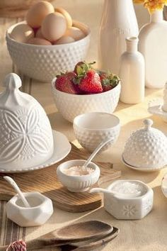 Farmhouse Pantry Salt & Pepper Cellars with Spoons
