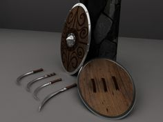 Dacic Sica Swords by Flaviu Nicolae-Popa, via Behance
