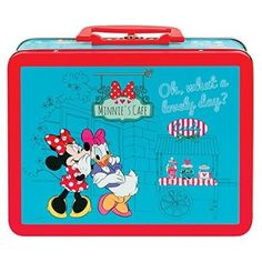 DISNEY MINNIE MOUSE LUNCH TIN