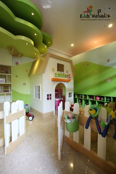 Kids playroom design by Kids Republik 2010  Location : Jakarta, Indonesia  Theme : Countryside