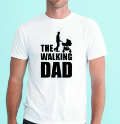 The Walking Dad Funny Men's T-shirt Short Sleeve Tee top great fathers day gift #Gildan #BasicTee