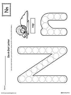 Letter N Do-A-Dot Worksheet Worksheet.The Letter N Do-A-Dot Worksheet is perfect for a hands-on activity to practice recognizing the letters of the alphabet and differentiating between uppercase and lowercase letters.