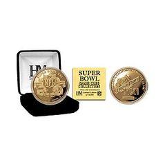 Highland Mint NFL® Super Bowl XXI Game Flip Coin