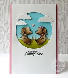 More than puppy love! by semsee - Cards and Paper Crafts at Splitcoaststampers