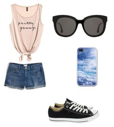 summer by petramucnjak on Polyvore featuring polyvore fashion style J.Crew Converse Gentle Monster clothing