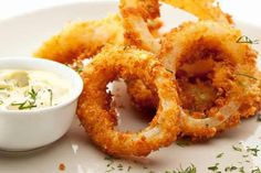 Calamares with Garlic Mayo Dip Recipe