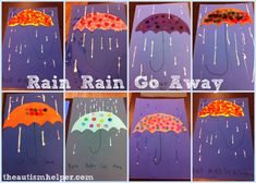 rainy day craft ideas weather activities april showers bring may flowers 5311