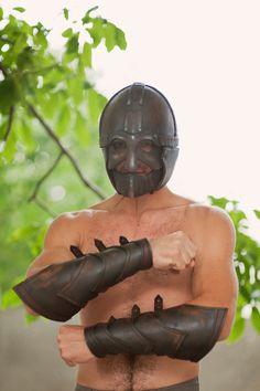 Single Leather Armor by IronWoodsShop on Etsy