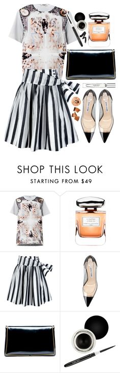 """""""Mixed Prints: Mauve and Peach"""" by lagyare ❤ liked on Polyvore featuring moda, Givenchy, Terry de Gunzburg, Pauw, Manolo Blahnik, Balenciaga, Nouba, Marchesa y MAKE UP FOR EVER"""