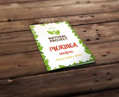 Moringa - Natural Project on Behance