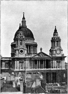 ST. PAUL'S CATHEDRAL, FROM THE WEST. (649×900)