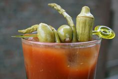 The best vegan Bloody Mary ever.