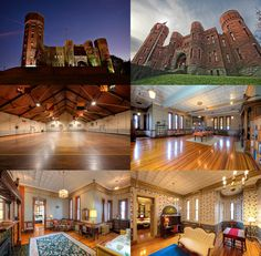 Upstate Castle Amsterdam, NY National Guard Armory for sale listing by Harold Reiser and Mike Franklin Select Sotheby's International Realty 315-876-2262
