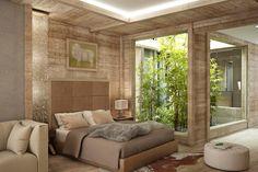 Bedroom - Résidences de Rougemont - By Plusdesign, architects Claudia Sigismondi & Andrea Proto