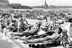 The beach in 1976.